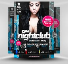 Free Hip Hop Flyer Template #PSD #Photoshop #HipHop #FlyerHeroes ...