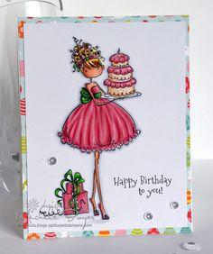 Happy Birthday 1-2-3 | Paper Cuts by Michele Boyer | Bloglovin'