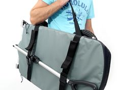 Cart for outdoor use, foldable into a small package.