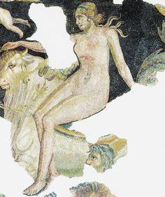 Ratto d'Europa, I a. C. Museo Archeologico Nazionale, Aquileia. Cultura romana
