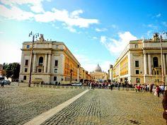 Na Janelinha para ver tudo: A Via della Conciliazione e a chagada ao Vaticano