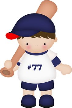 Boys Crafts For Boys, Baby Crafts, Baseball Theme Birthday, Clipart Boy, Tatty Teddy, Sewing Appliques, Cool Fonts, Craft Party, Digital Stamps