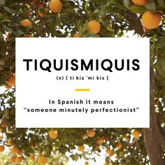 #WordOfTheDay: Tiquismiquis. It sounds like a greek word but it is a Spanish one. #Languages #Spanish