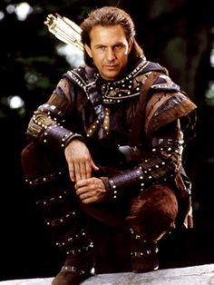 Kevin Costner as Robin Hood in Prince of Thieves - 1991