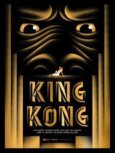 Pôsteres homenageiam 80 anos de King Kong                                                                                                                                                     Mais