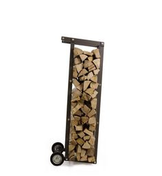 Truck mobile firewood rack by Ak47 design