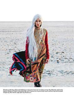 Kalamkari Anokhi Dress by Sabyasachi  Marie Claire India June 2012