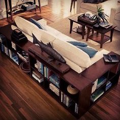 Creative To Wrap A Couch With Bookshelves      Instagram Stylefiles Fashion Ootd Fashiondaily Fashiongamer Whatiwore Wdywt Fashiontrends Fashiondiaries Style Blogger Instagood Ilovefashion Fashionlovers Outfiitoftheday Stylewatch Styletrends Style Stunning Interior Design Interierdesigner Livingroom Couch
