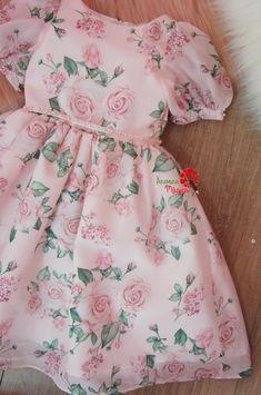 Baby Girl Frocks, Frocks For Girls, Girls Spring Dresses, Baby Girl Dresses, Kids Outfits Girls, Girl Outfits, Baby Girl Frock Design, Kids Frocks Design, Lovely Dresses