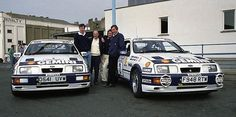Colin McRae's first WRC ride.