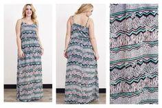 Dusty Pink PLUS size maxi dress