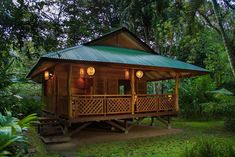 Modern Bahay Kubo Designs In The Philippines Avenue Of Romeo Bamboo House Design, Tropical House Design, Simple House Design, Tiny House Design, Tropical Houses, Modern House Design, Hut House, Tiny House Cabin, Bahay Kubo Design Philippines