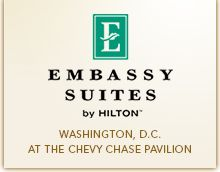 The Embassy Suites Hotel by Hilton at the Chevy Chase Pavilion