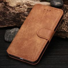 Vintage Leather Flip Wallet Case For iPhone //Price: $9.35 & FREE Shipping //     #case.deals#iphone case#smartphone cases