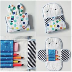 how to clean furry pencil case