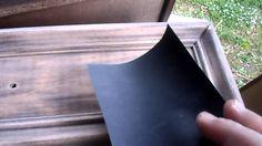 RESTAURARE UN PICCOLO MOBILE CON STILE SHABBY CHIC