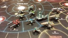 Firefly: The Game Firefly Painting, Games Images, Board Games, Miniatures, Tabletop, Sky, Model, Heaven, Tabletop Games