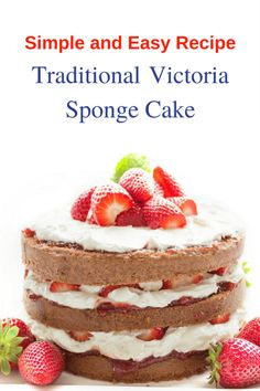Vintage Victoria Sponge Cake Recipe For A Perfect High Tea Party Tea Recipes, Dessert Recipes, Desserts, Victorian Sponge Cake Recipe, Victoria Sponge Kuchen, Vintage High Tea, Vintage Style, High Tea Wedding, Victoria Cakes