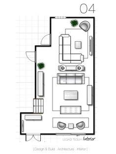 Pilihan 04 Ruang Dibahagikan Kepada Tamu Formal Dan Tidak Meja Console Yang Dihias Dengan Lampu Dijadikan Divider Untuk Memisahkan