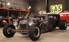 Rat Rod from Vegas Rat Rods aka. Weird Cars, Cool Cars, Crazy Cars, Model A Rat Rod, Rusty Cars, Rats, Cars And Motorcycles, Hot Rods, Dream Cars