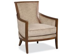 This dashing chair is finished in our felton finish and features K-Doule Fog fabric.