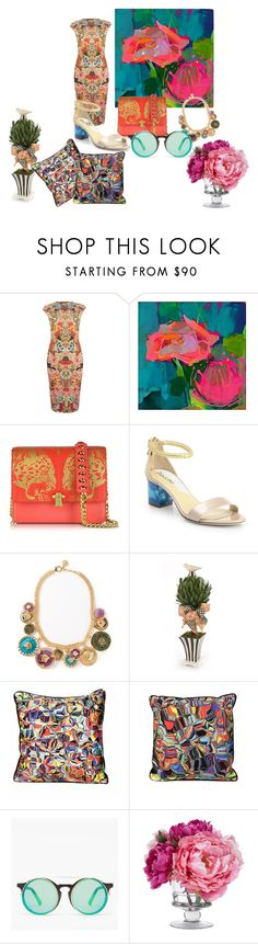 """""""MIx And Mix"""" by hoannip ❤ liked on Polyvore featuring Alexander McQueen, Rosato, Roberto Cavalli, Pollini, Versace, MacKenzie-Childs, The VIVID Collection, Sunday Somewhere and Diane James"""
