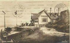Hordaland fylke Bergen Fløien brukt 1920 Utg C. A.  Erichsen