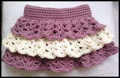 Ravelry: YarntabulousUK's Ruffle Skirt