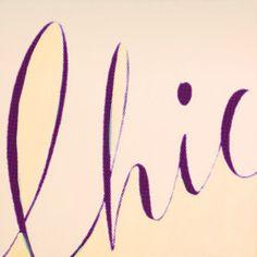 #chic #handwriting #fashion #lifestyle #quote #life