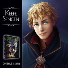 Keefe Sencen from the Keeper of the Lost Cities series (art drawn by @LostiesArt)