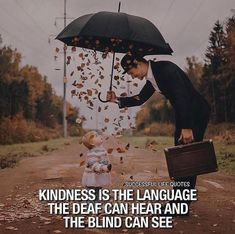 Positive Quotes : QUOTATION – Image : Quotes Of the day – Description Kindness is the language.. Sharing is Power – Don't forget to share this quote ! https://hallofquotes.com/2018/03/15/positive-quotes-kindness-is-the-language/