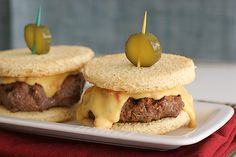 Use pimiento cheese. | 30 Amazing Sliders For Your Super Bowl Party