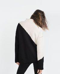 画像 3 の カラーブロックセーター ザラから