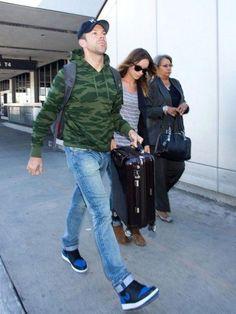 best service 05d14 36921 Celebrity Sneaker Watch Jason Sudeikis in Air Jordan 1 Royal  timming Jordan  1 Royal,