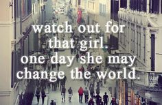 be that girl <3
