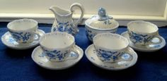 Antikes Service von Schierholz Porzellan, 11-teilig, handbemalt | eBay 47,46