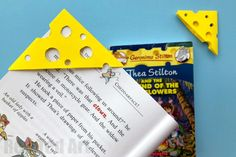 Easy cheese corner bookmark. Kawaii cheese bookmark. Cheese Bookmark corner. Cheese Bookmark DIY. Geronimo Stilton Bookmarks. Geronim Stilton Corner Bookmark. Thea Stilton Bookmark. Thea Stilton Bookmark Corner. Geronimo corner bookmark. Geronimo Stilton Crafts. Thea Stilton Crafts. DIY Thea Stilton. DIY Geronimo
