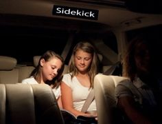 """NEED the """"DOMELIGHT ON""""?? Now you can use your light for ANY reason.....Distraction Free......TOTALLY Eliminates night time glare and redirects ALL light to backseat!!!  Great Christmas Gift!!   Order on line ...$4.99 w/FREE SHIPPING ....Money Back Guarantee!!!www.domelightsidekick.com"""