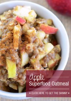 This oatmeal is the perfect excuse to get up early and get my day started right!