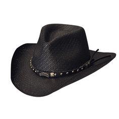 ed9cf5b417b Jack Daniels Pinchfront (JD03-700)- Toyo Straw Cowboy Hat Western Hats