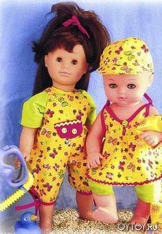 Выкройка одежды для пупсов-младенцев. Одежда для куклы своими руками. Что сшить кукле? Во что одеть куклу?