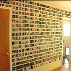 wall of photos<3