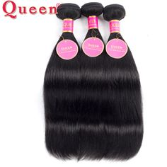 8a 브라질 버진 헤어 스트레이트 3 번들 queen hair 제품 처녀 브라질 스트레이트 머리 인간의 처녀 머리 직조 100 그램