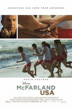"""Hola a todos, me retrasé un poco con la publicación porque no había tenido tiempo de ver esta película nueva de Disney... llamada Mc Farland USA.Si, es una historia basada en lo real, la cual cuenta la vida de un ex-entrenador Jim White (Kevin Costner) apodado luego como """"Blanco"""", que llega en el añ"""