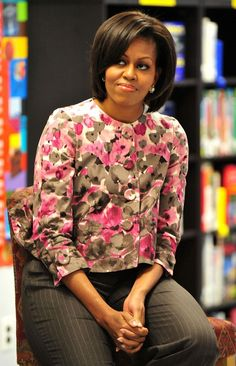 Michelle Obama High School Years | Lady Michelle Obama speaks to students at Ballou Senior High School ...