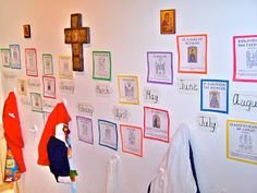 The Liturgical Year for Little Ones: Church year timeline