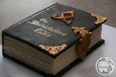 sculpted shadowhunters codex book cake