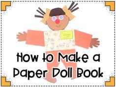 KinderGals: Publishing Nonfiction Text with Paper Doll Books