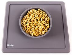 Placemat and Plate Suction Silicone by Lilbaby (Simple Bo...