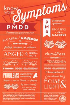 Normal PMS symptoms include bloating, fatigue, headaches, and breast tenderness. These resolve with the onset of the Menstrual Cycle. PMDD is a more severe variant of PMS. Health And Wellness, Health Tips, Mental Health, Women's Health, Holistic Wellness, Health Facts, Health Care, Home Remedies, Beauty